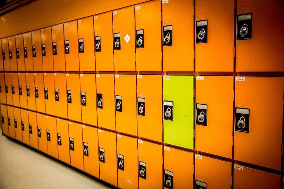middle school locker