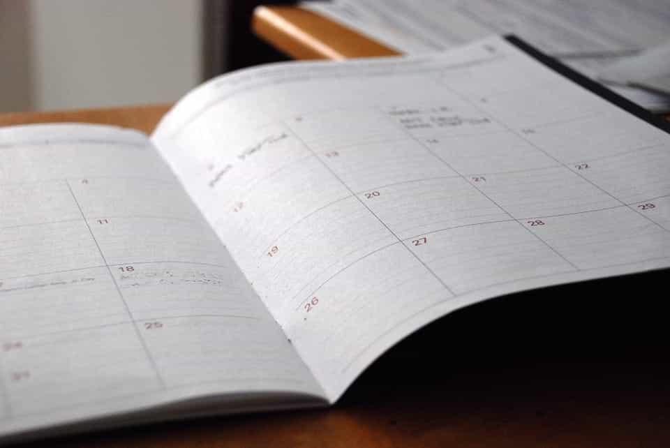 school day planner