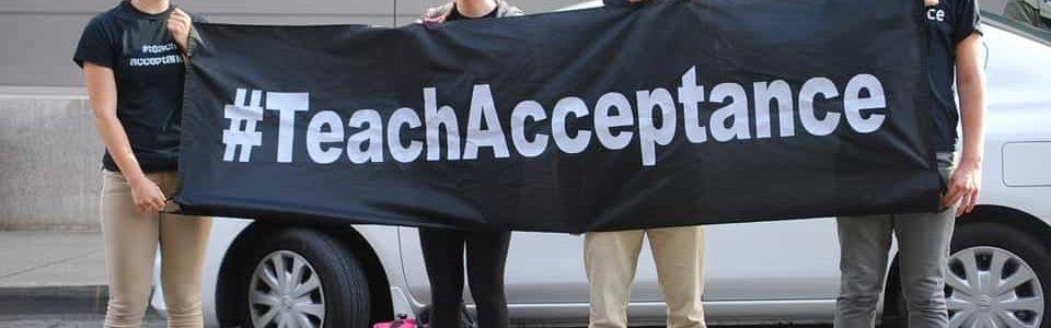 Acceptance sign