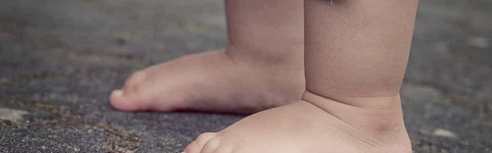 child feet