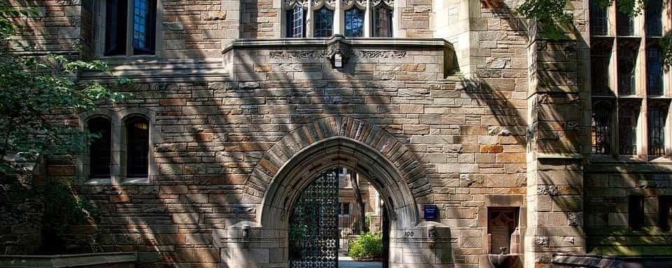 Yale entrance