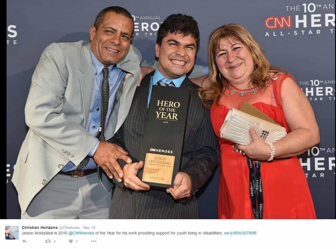 CNN Hero award recipient