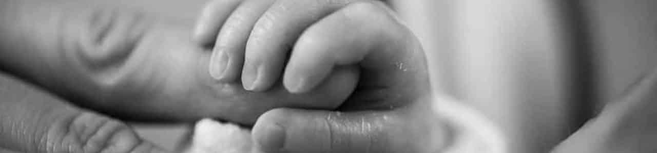 Baby hand birth injury